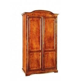 Armadio legno 2 ante x camera da letto arte povera col noce scuro - Armadio x camera da letto ...