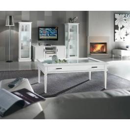 Porta tv mobile legno moderno laccato bianco legno for Salotto moderno bianco