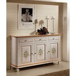 Credenza base decorato come foto napoletana decorata super for Credenza offerta
