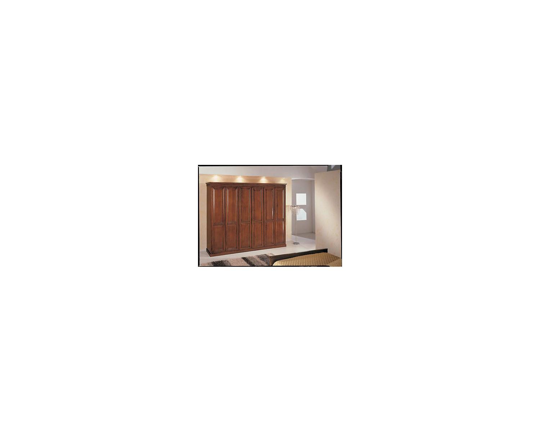 Armadio 6 ante arte povera legno massello x camera da letto - Armadio x camera da letto ...