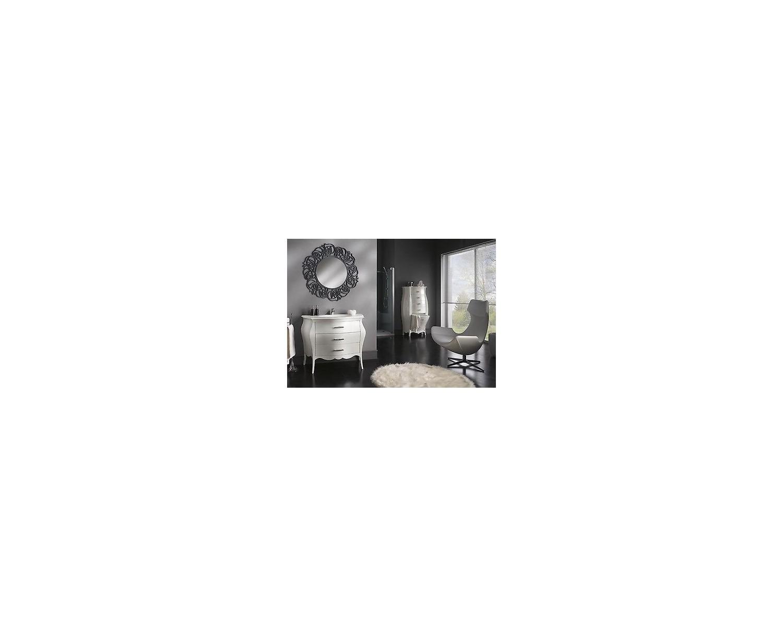 Mobile bagno arredo laccato bianco swarovskidesign veneto - Bagno veneto cesenatico ...
