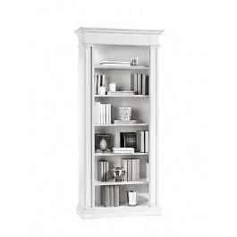 Libreria con mensole bianco opaco legno prodotto veneto for Mensole legno bianco
