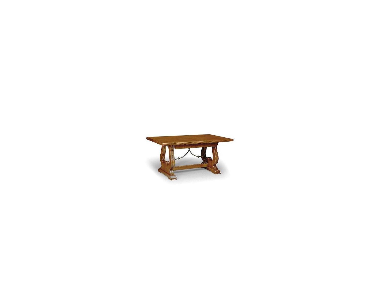 Robusto tavolo allungabile legno massello 180x100 for Tavolo legno massello prezzi