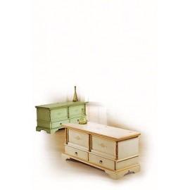 Collezione decorati a mano estea mobili - Cassapanca decorata ...