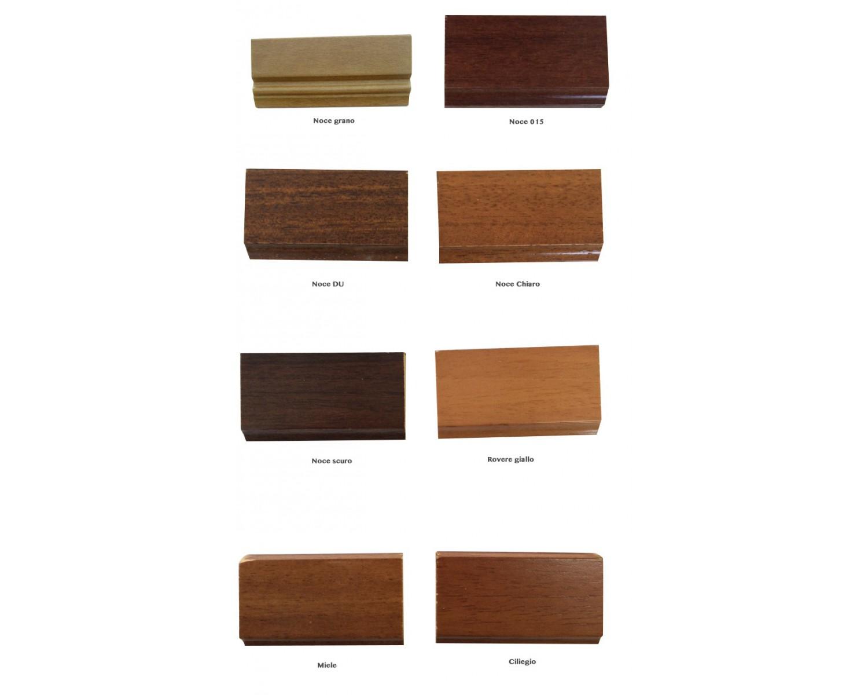 Armadio dispensa con mensole e 2 cassetti interni legno for Mensole legno massello