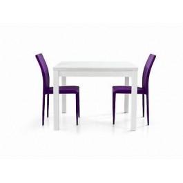 Tavolo legno moderno allungabile bianco frassinato x for Tavolo cucina moderno bianco