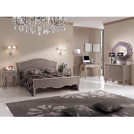 Camera matrimoniale letto comodini como scrittoio colore tortora anticato - Cerco camera da letto matrimoniale ...