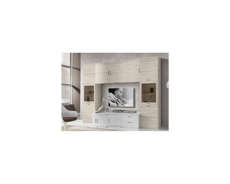 Parete moderna estea mobili - Mobili soggiorno legno massello ...