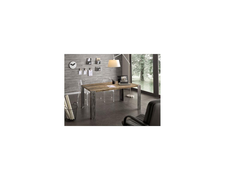 Tisch design aus massivholz eiche for Tisch design massivholz