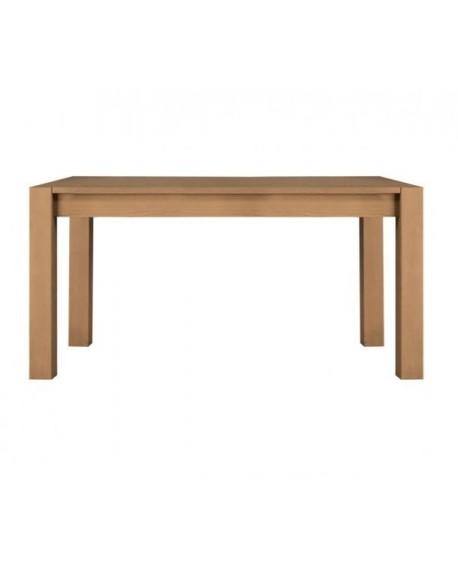 Tavolo di legno massello in frassino allungabile for Tavolo legno frassino