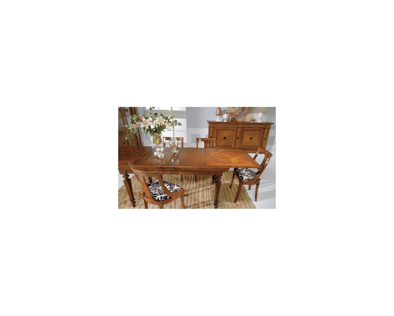 Tavolo legno massello noce allungabile l 160 p 90 h 80 - Tavolo legno allungabile prezzi ...