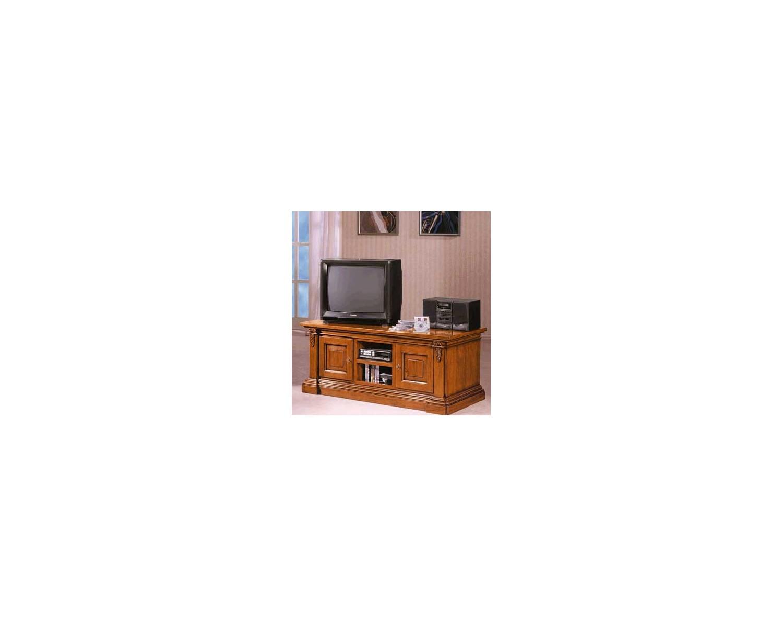 Porta tv intagliato in legno massello l 158 p 60 h 62 - Porta tv in legno arte povera ...