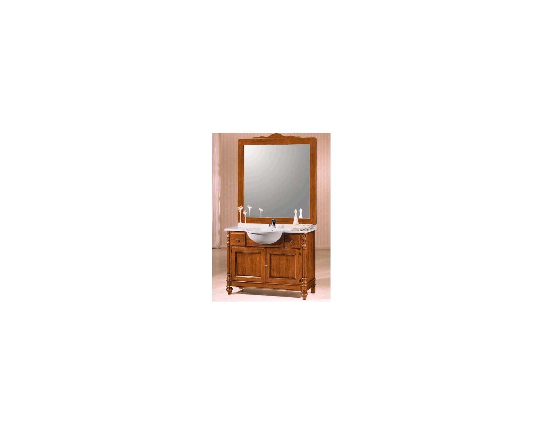 Mobile bagno arredo legno massello arte povera classico for Gm arte bagno arredo bagno como