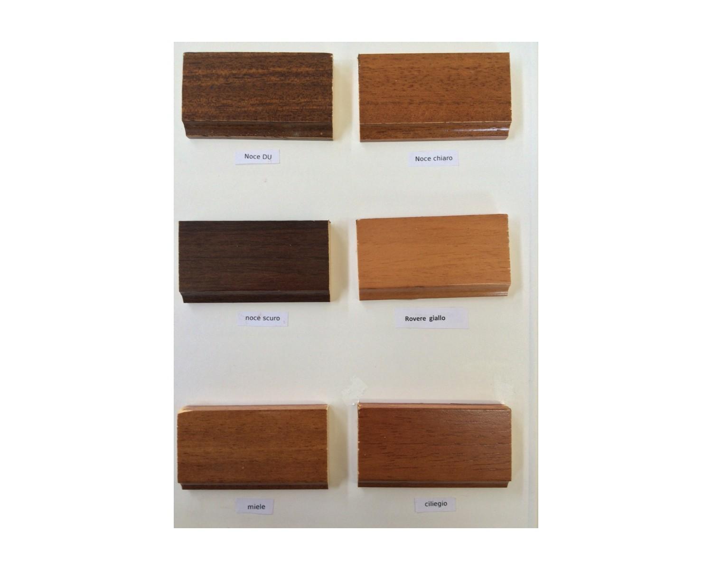 Credenza credenzone in legno massello colore noce l 211 - Colore parete cucina noce ...