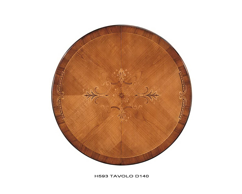 Tavolo rotondo allungabile bicolore legno massello for Tavolo legno massello allungabile