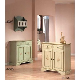 CREDENZA WOOD DECORATED HAND VARIOUS COLORS L 90 P 40 H 94