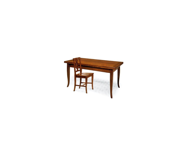 Tavolo in legno colore noce bassano ottima finitura - Tavolo legno allungabile prezzi ...