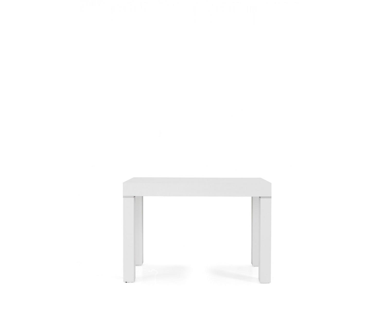 Tavolo legno moderno allungabile consolle bianco for Tavolo legno moderno allungabile