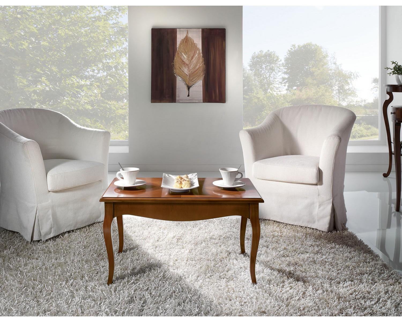 Tavolino basso per salotto in legno con intersio varie for Tavolino per salotto
