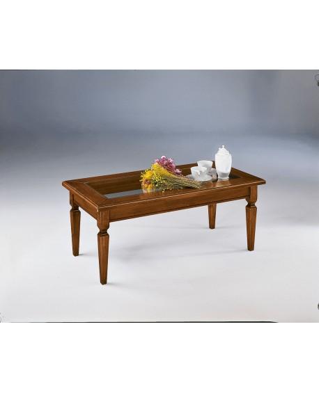 Tavolino basso per salotto in legno l 120 p 60 h 47 for Tavolino salotto in legno