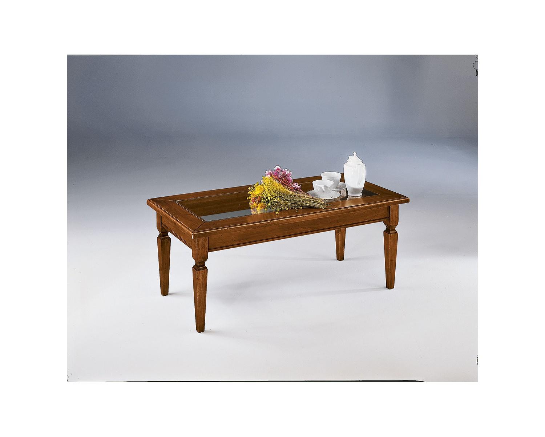 Tavolino basso per salotto in legno l 120 p 60 h 47 for Tavolino salotto legno