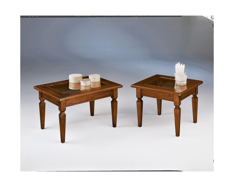 Tavolino basso per salotto in legno vari dimensione vari for Tavolino salotto legno