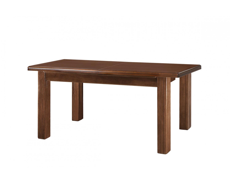 Tavolo legno massello allungabile finitura bassano chiuso - Tavolo massello ...