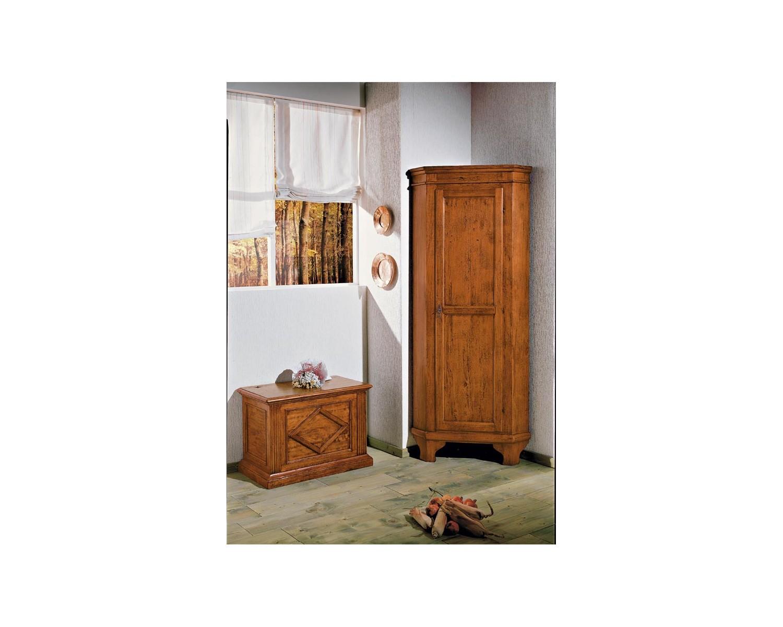 Cantonale in legno massello mobile ad angolo 58x58 l 83 h 198 for Mobile angolo