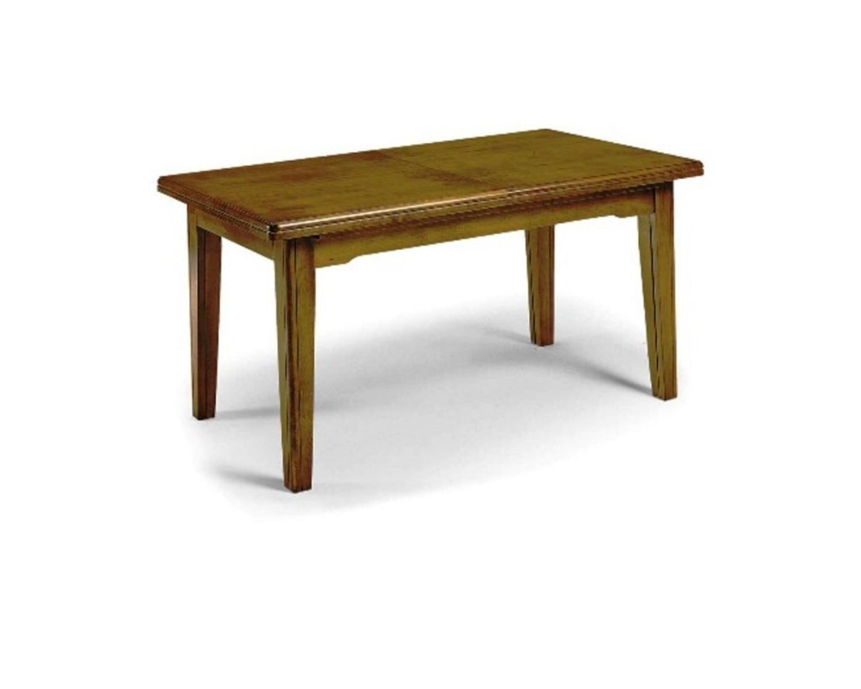Tavolo allungabile legno massello vari colori for Tavolo legno massello allungabile