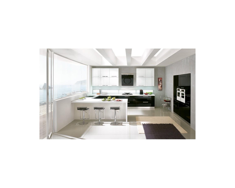 Cucina completa moderna gaia - Soggiorno legno massello ...