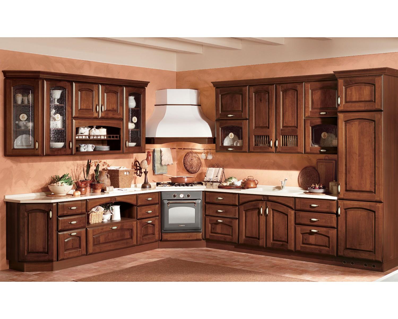 Cucine legno massello cucina componibile moderna legno for Cucine legno massello