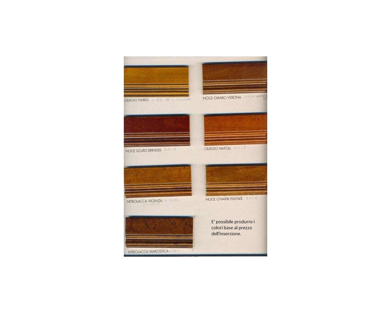 Credenza 2 cassetti 2 ante vari colori legno massello bicolore - Colori mobili legno ...