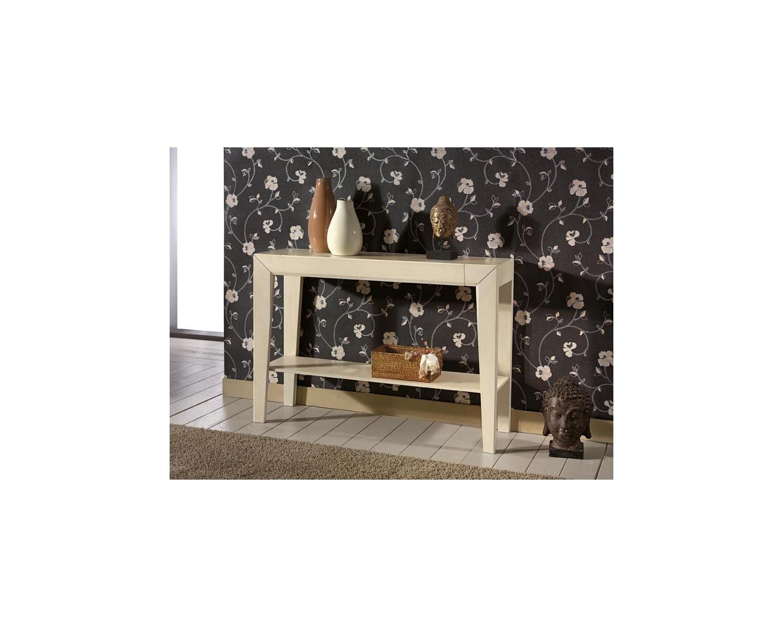 Tavolo consolle legno massello vari colori laccato bianco for Tavolo legno massello prezzi