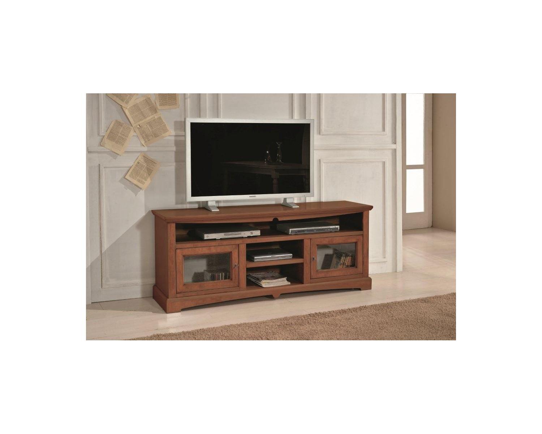 porta tv legno colore noce chiaro- codluis 354 - estea mobili - Mobili Porta Tv Legno