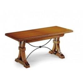 Tavolo allungabile legno massello for Tavolo consolle allungabile legno massello