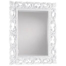 Specchio molato intagliato argento - Specchio cornice nera barocca ...