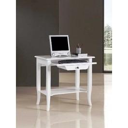 Tavolo legno porta pc laccatp bianco - Tavolo porta pc ...