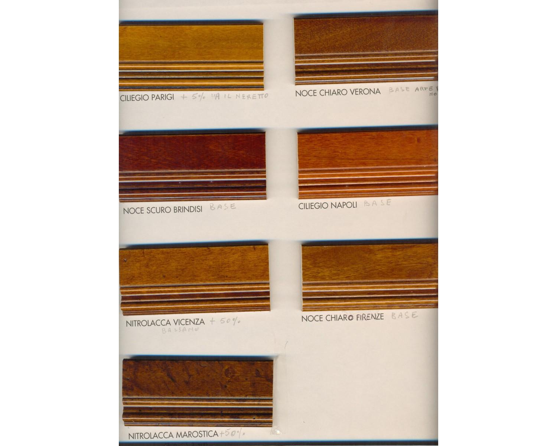 vetrina legno bassa 2 ante arte povera - estea mobili - Soggiorno Noce Massello 2