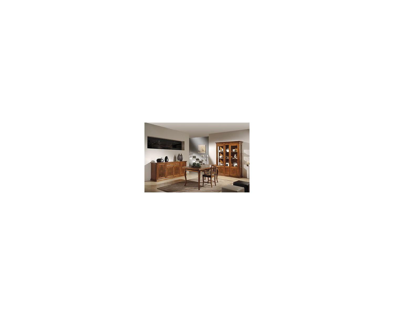 sala soggiorno arte povera completa massello - estea mobili - Soggiorno Noce Massello