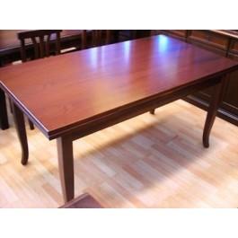 Tavolo allungabile legno e agglomerato col noce arte for Tavolo 120x80