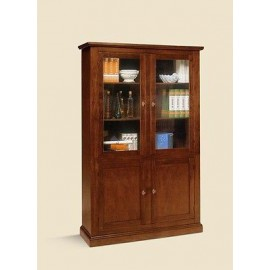 mobile cristalliera libreria vetrina arte povera legno salotto ... - Mobili Salotto Arte Povera