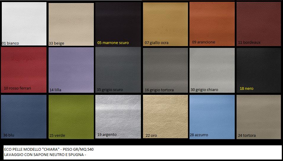 Divani In Pelle Colori.Divano Angolare Eco Pelle E Tessuto Vari Colori