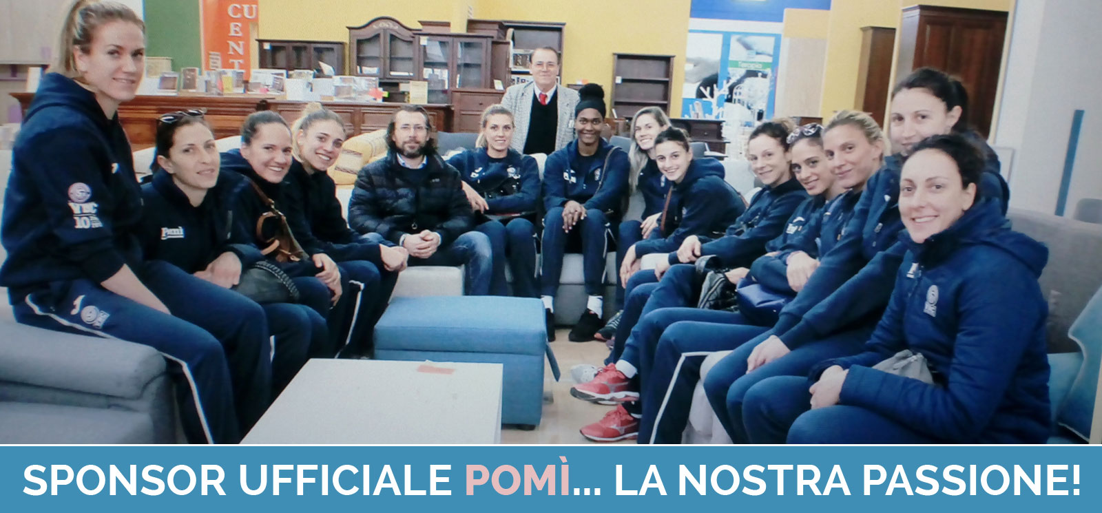 Sponsor Ufficiale Pomi Volley