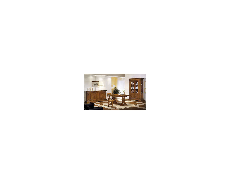 Sala soggiorno intarsiata legno massello for Sala soggiorno