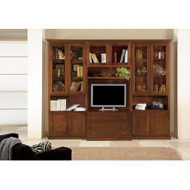 WALL LIVING LIBRARY WOOD