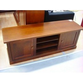 CHEST WOOD MOBILE TV STAND TV STAND POOR ART VENETA * MADE IN ITALY *