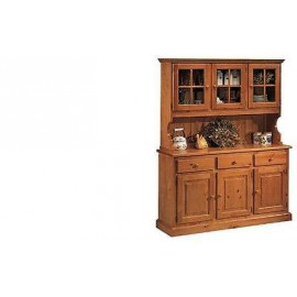 BELIEF IN PINE WOOD BASE + LIFT CRISTALLIERA HONEY COLOR - WALNUT - NATURAL