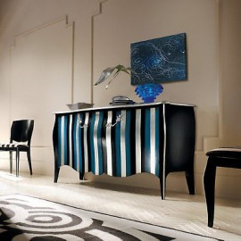 MOBILE LACQUERED DRESSER BOMBATO HANDMADE SOLID