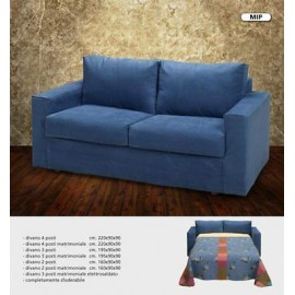 SOFA 2 seater 155X90X90 LOUNGE - NO BED COLORS -Various