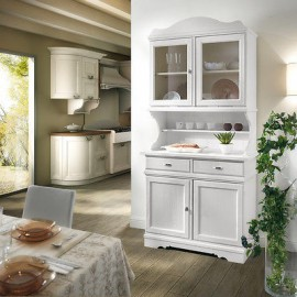 FULL BELIEF CRISTALLIERA PROVENCAL COUNTRY WITH WHITE - SOLID WOOD